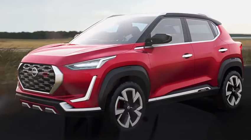 Nissan Magnite Concept revealed – production global B-SUV set to debut early 2021, smaller than Kicks Image #1148435