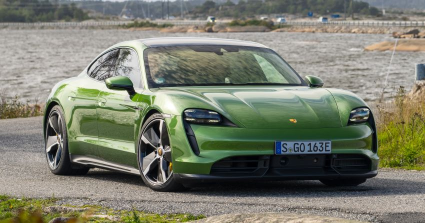 Porsche Taycan is the world's most innovative car Image #1149133