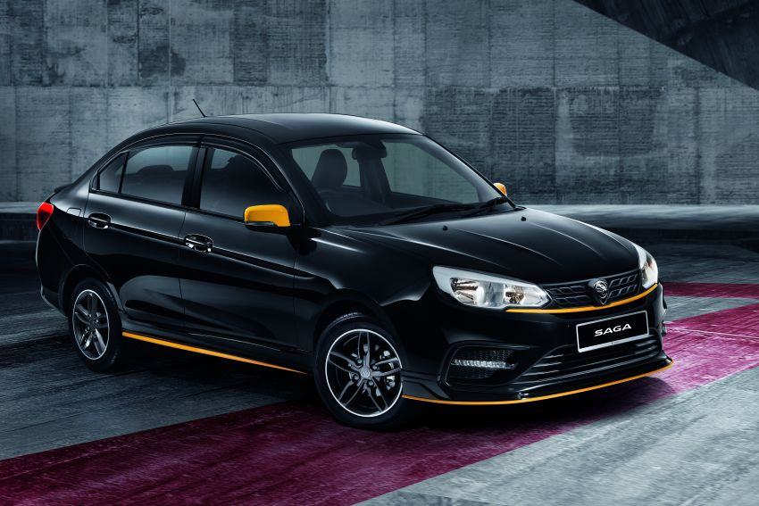 2020 Proton Saga Anniversary Edition launched – 35th birthday special in black-yellow, 1,100 units, RM39,300 Image #1143254