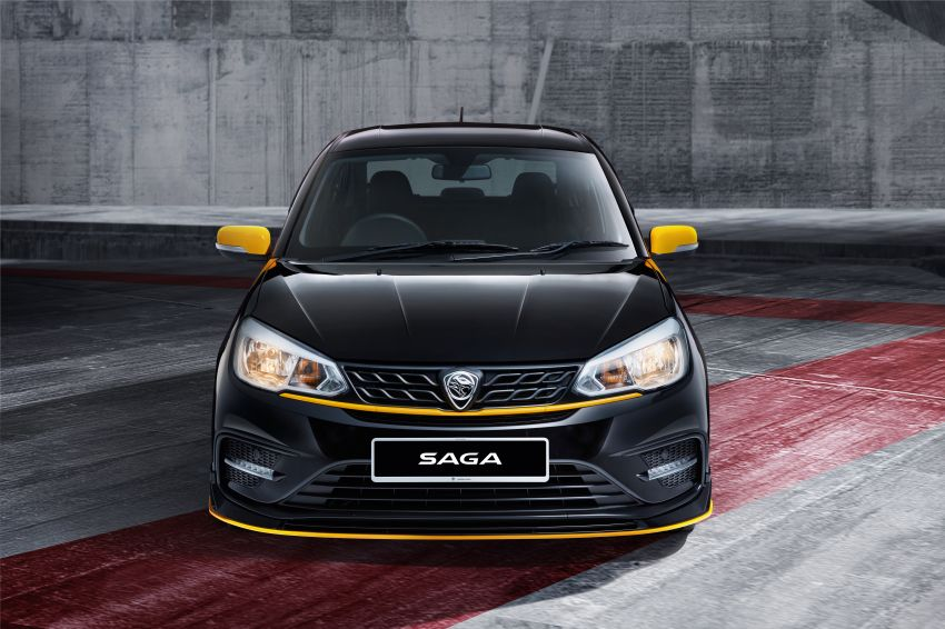 2020 Proton Saga Anniversary Edition launched – 35th birthday special in black-yellow, 1,100 units, RM39,300 Image #1143249