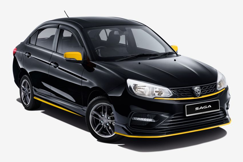2020 Proton Saga Anniversary Edition launched – 35th birthday special in black-yellow, 1,100 units, RM39,300 Image #1143252