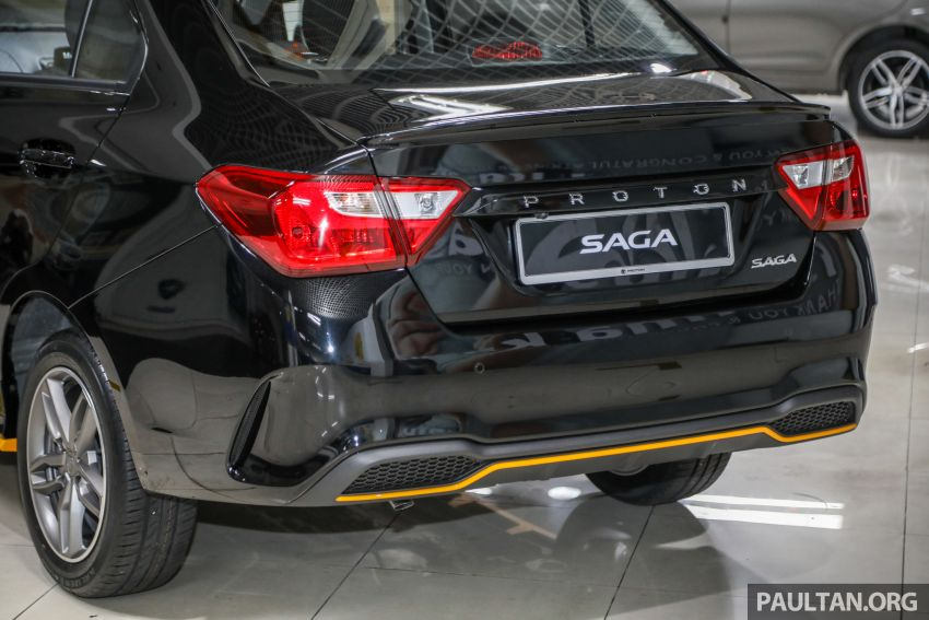 2020 Proton Saga Anniversary Edition launched – 35th birthday special in black-yellow, 1,100 units, RM39,300 Image #1143024