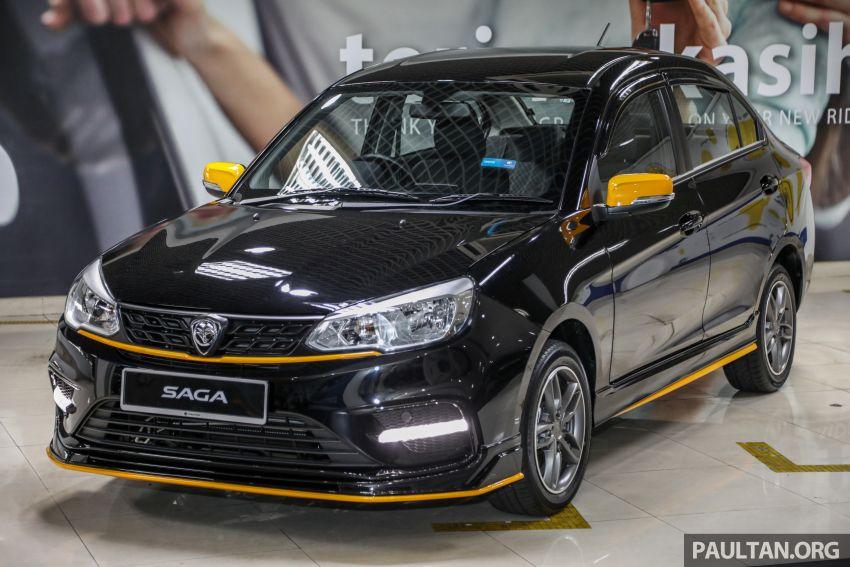Proton Saga Anniversary Edition dilancar – RM39,300, hanya 1,100 unit untuk sambutan ulangtahun ke-35 Image #1143029