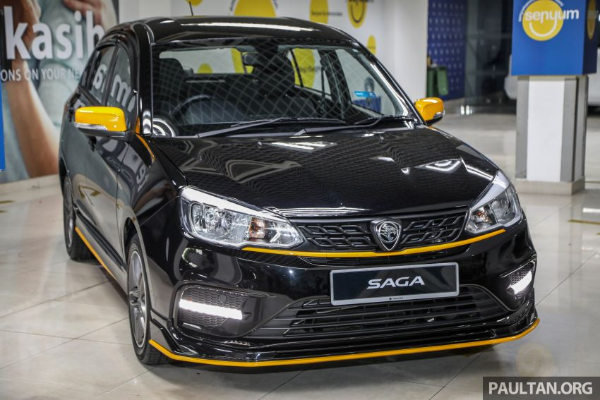 2020 Proton Saga Anniversary Edition launched – 35th birthday special in black-yellow, 1,100 units, RM39,300 Image #1143015