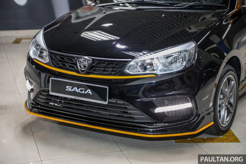 2020 Proton Saga Anniversary Edition launched – 35th birthday special in black-yellow, 1,100 units, RM39,300 Image #1143019