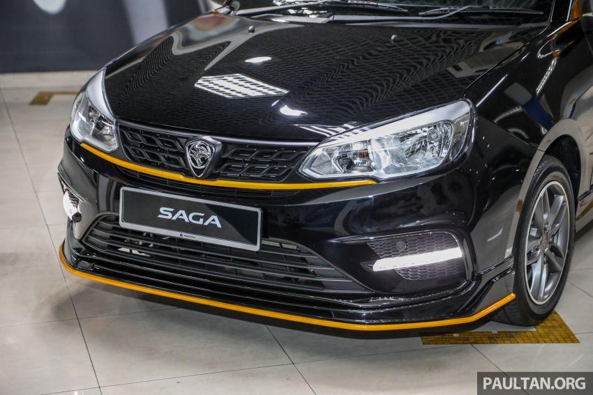 Proton Saga Anniversary Edition dilancar – RM39,300, hanya 1,100 unit untuk sambutan ulangtahun ke-35 Image #1143036