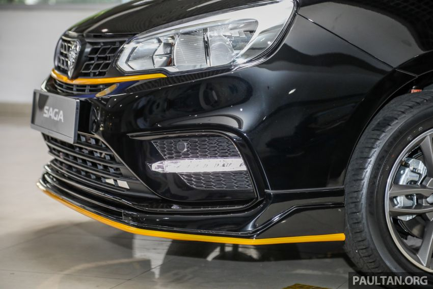 2020 Proton Saga Anniversary Edition launched – 35th birthday special in black-yellow, 1,100 units, RM39,300 Image #1143021