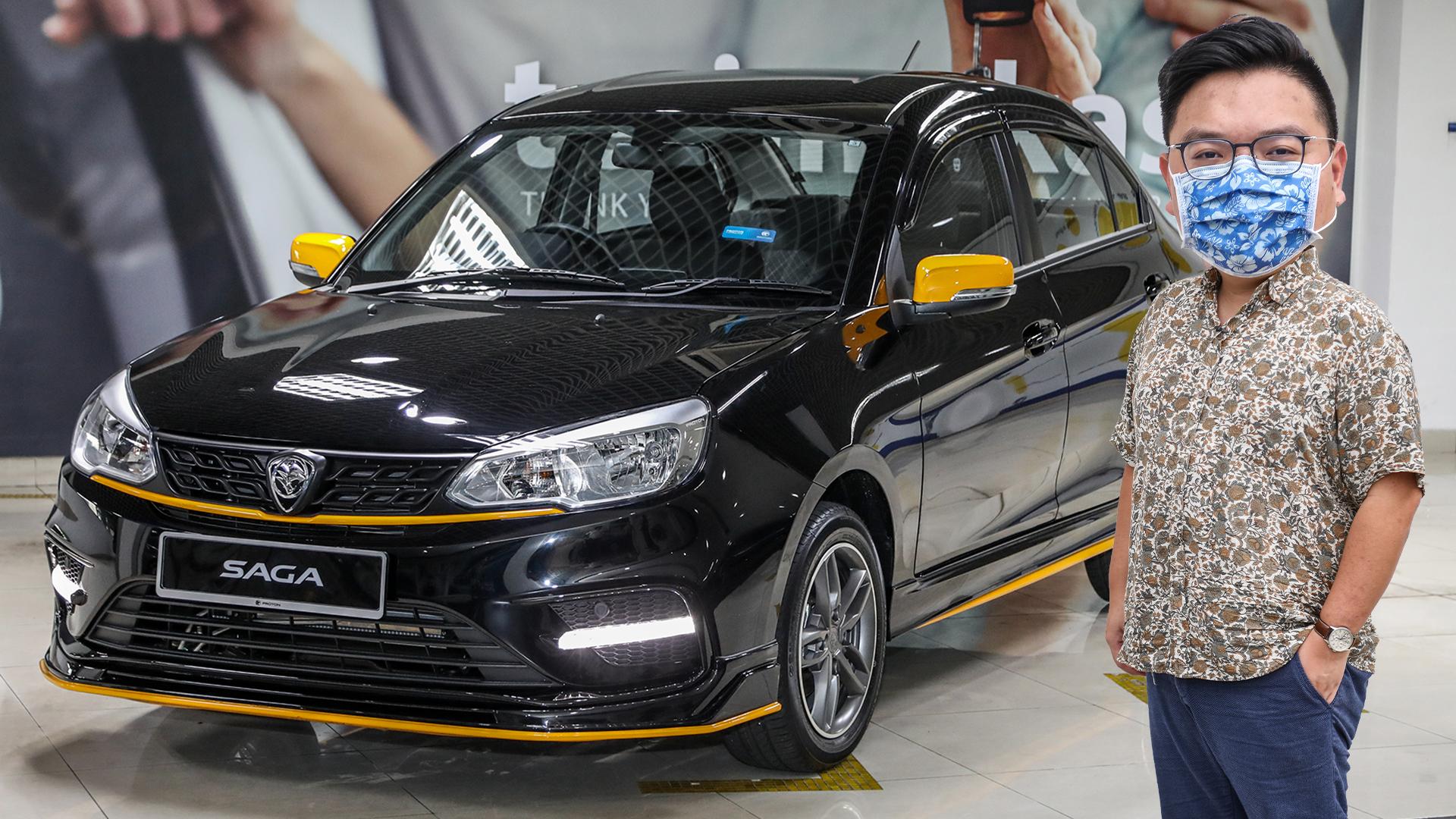 First Look 2020 Proton Saga Anniversary Edition Rm39 300