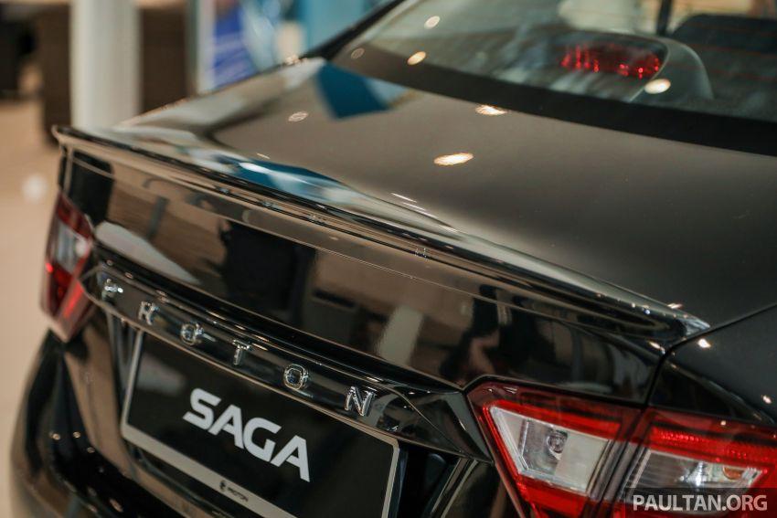 Proton Saga Anniversary Edition dilancar – RM39,300, hanya 1,100 unit untuk sambutan ulangtahun ke-35 Image #1142995