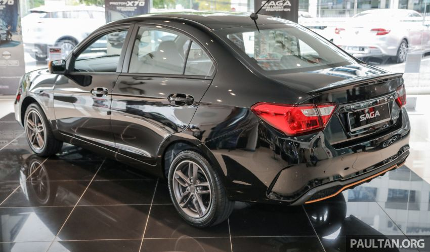 2020 Proton Saga Anniversary Edition launched – 35th birthday special in black-yellow, 1,100 units, RM39,300 Image #1142895
