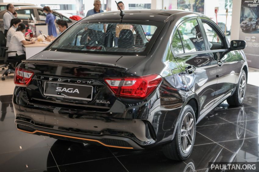 2020 Proton Saga Anniversary Edition launched – 35th birthday special in black-yellow, 1,100 units, RM39,300 Image #1142896
