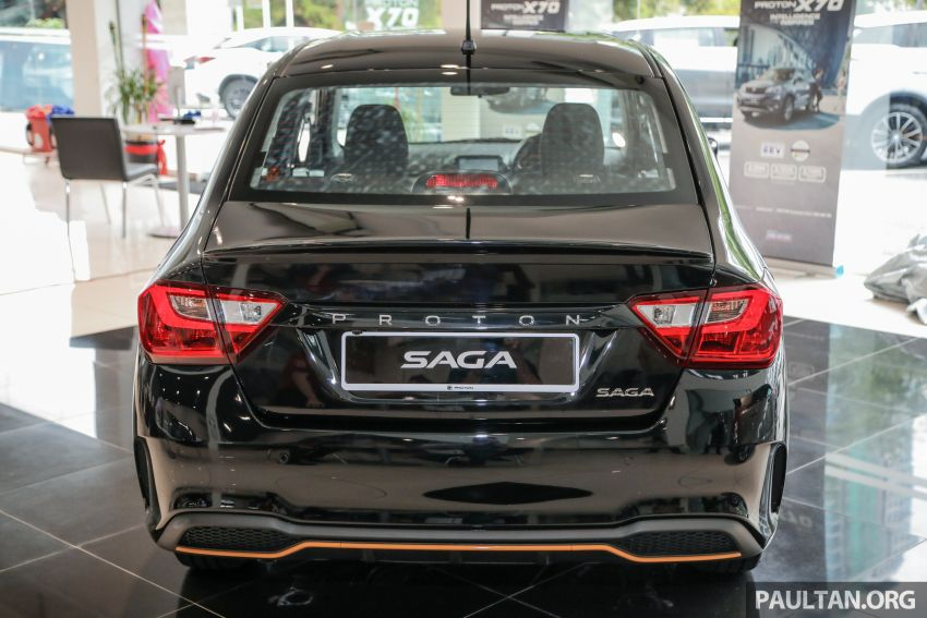 2020 Proton Saga Anniversary Edition launched – 35th birthday special in black-yellow, 1,100 units, RM39,300 Image #1142898