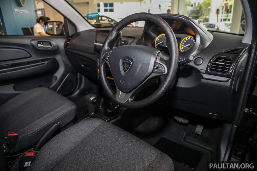 2020 Proton Saga Anniversary Edition launched – 35th birthday special in black-yellow, 1,100 units, RM39,300 Image #1142914