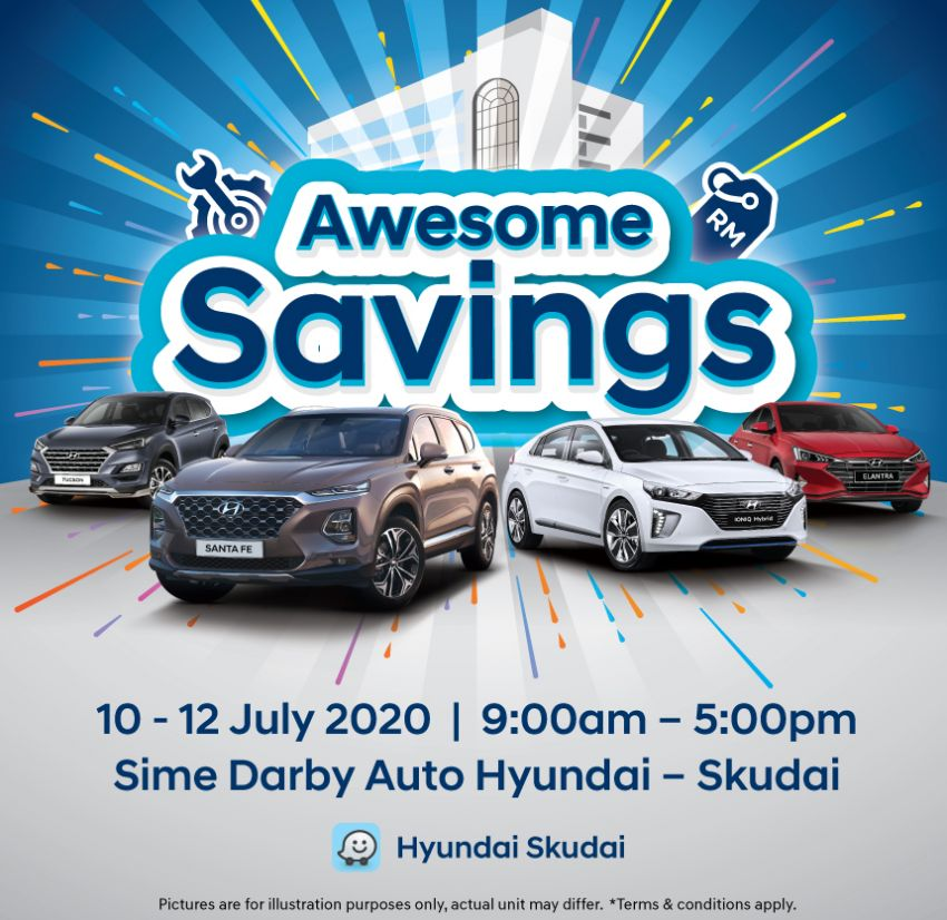 AD: Enjoy RM20,000 rebates on a new car at the Sime Darby Auto Hyundai, Skudai – from July 10-12 only! Image #1142368