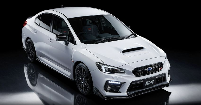 Subaru WRX STI Sport # debuts in Japan – 500 units Image #1142263