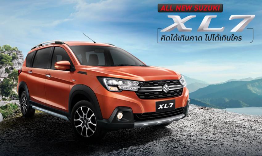 Suzuki XL7 'Ertiga SUV' launched in Thailand, RM106k Image #1144776