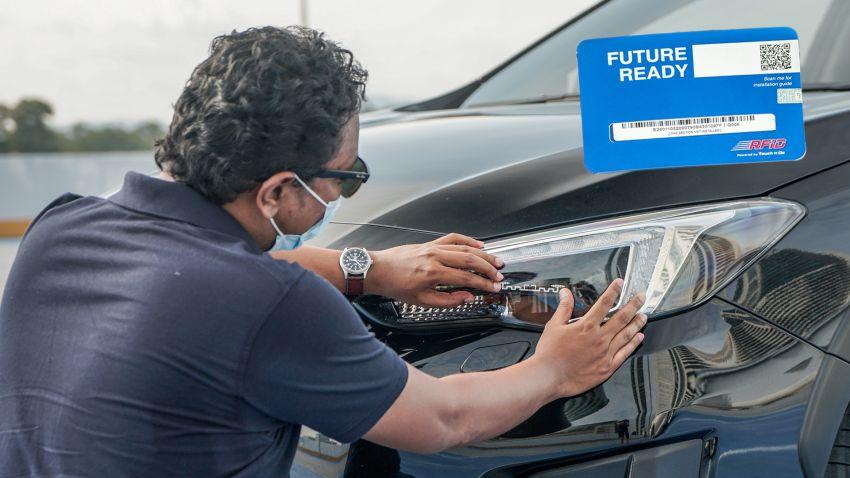 Kit Touch n' Go RFID  pasang sendiri — mudah sahaja? Image #1149145