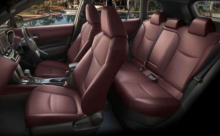 Toyota perkenal Corolla Cross untuk pasaran Thailand — platform TNGA, enjin petrol dan hibrid, dari RM132k Image #1143127
