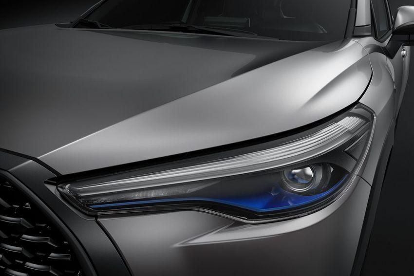 Toyota perkenal Corolla Cross untuk pasaran Thailand — platform TNGA, enjin petrol dan hibrid, dari RM132k Image #1143130