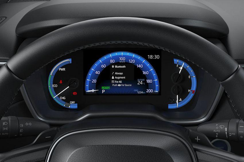 Toyota perkenal Corolla Cross untuk pasaran Thailand — platform TNGA, enjin petrol dan hibrid, dari RM132k Image #1143135