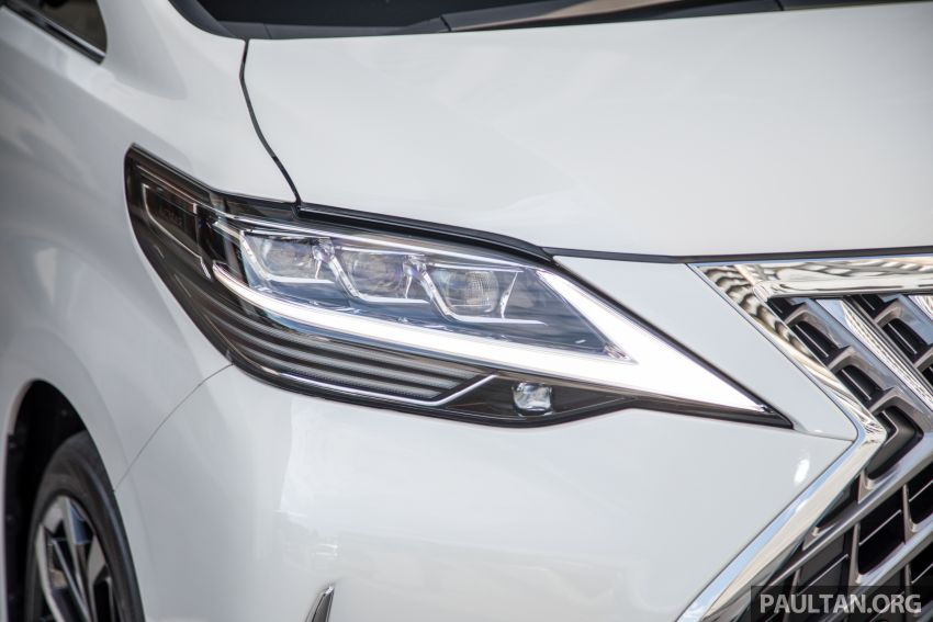 GALERI: Toyota Alphard ditukar kepada luaran Lexus LM — peralatan tulen sepenuhnya, berharga RM56k Image #1147673