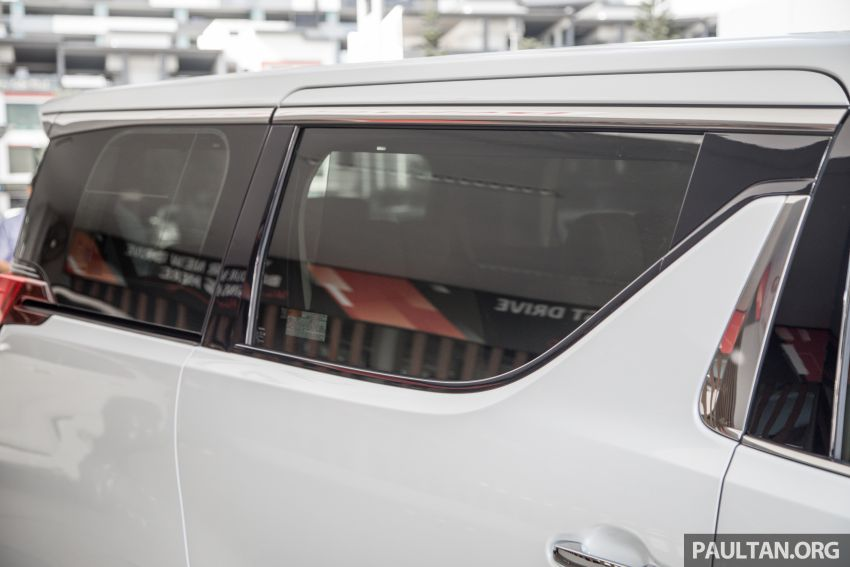GALLERY: Toyota Alphard full exterior conversion to Lexus LM – genuine Lexus parts only, priced at RM56k Image #1147541