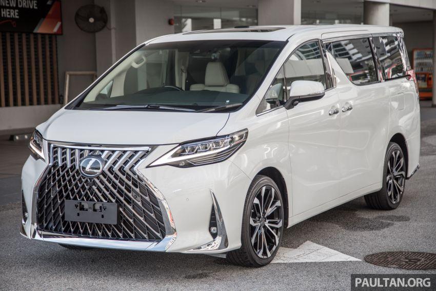 GALERI: Toyota Alphard ditukar kepada luaran Lexus LM — peralatan tulen sepenuhnya, berharga RM56k Image #1147664