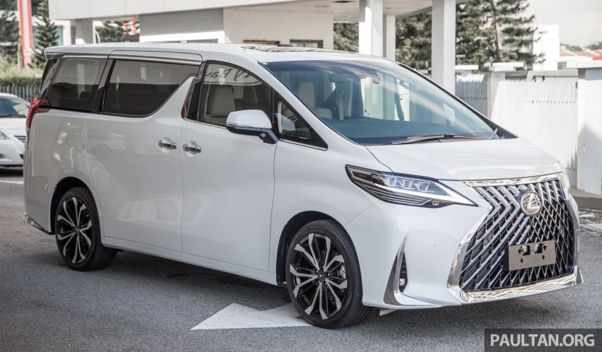 GALLERY: Toyota Alphard full exterior conversion to Lexus LM – genuine Lexus parts only, priced at RM56k Image #1147523