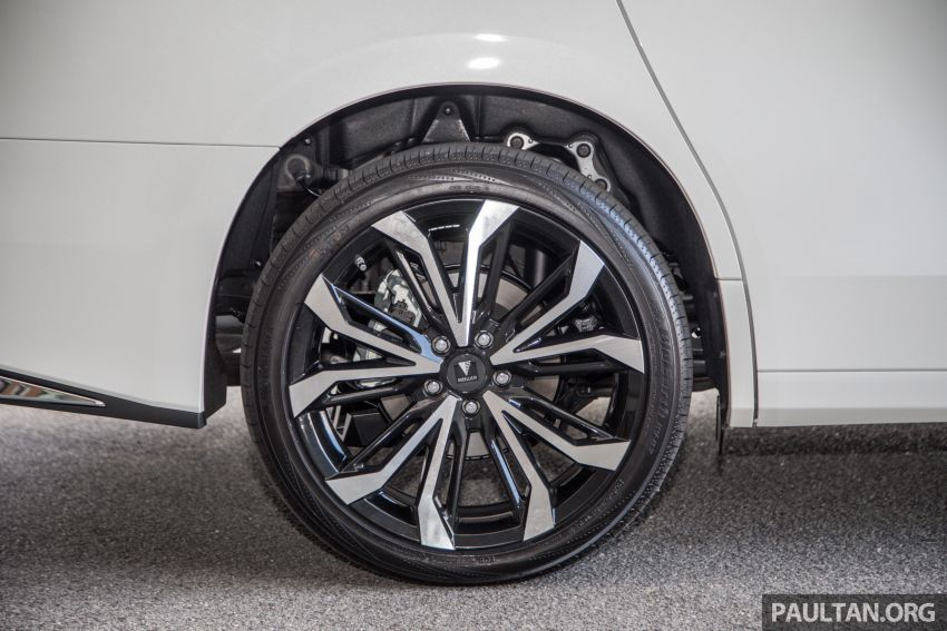 GALLERY: Toyota Alphard full exterior conversion to Lexus LM – genuine Lexus parts only, priced at RM56k Image #1147542