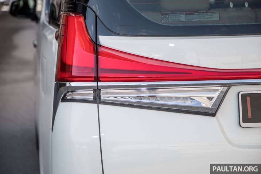 GALLERY: Toyota Alphard full exterior conversion to Lexus LM – genuine Lexus parts only, priced at RM56k Image #1147544