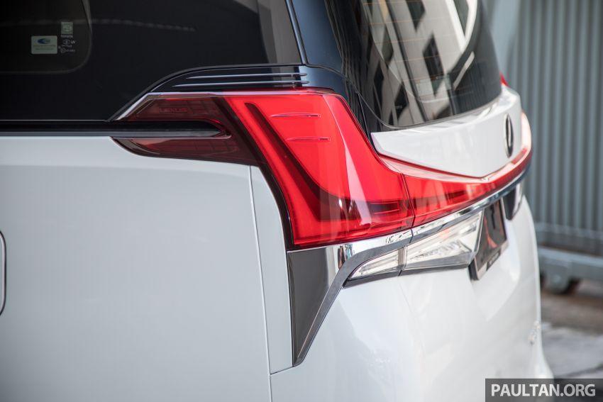 GALERI: Toyota Alphard ditukar kepada luaran Lexus LM — peralatan tulen sepenuhnya, berharga RM56k Image #1147690