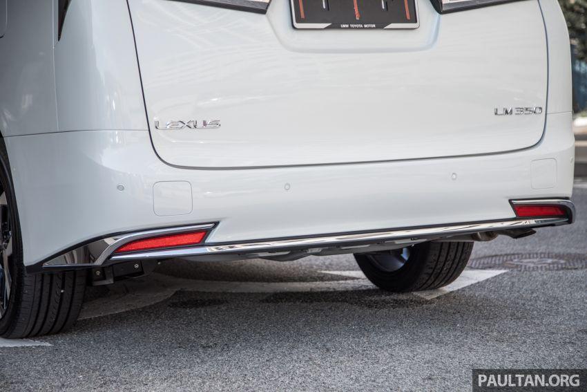 GALERI: Toyota Alphard ditukar kepada luaran Lexus LM — peralatan tulen sepenuhnya, berharga RM56k Image #1147692