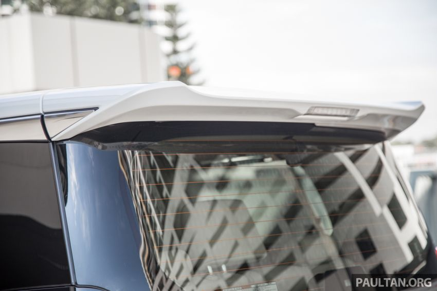 GALLERY: Toyota Alphard full exterior conversion to Lexus LM – genuine Lexus parts only, priced at RM56k Image #1147549