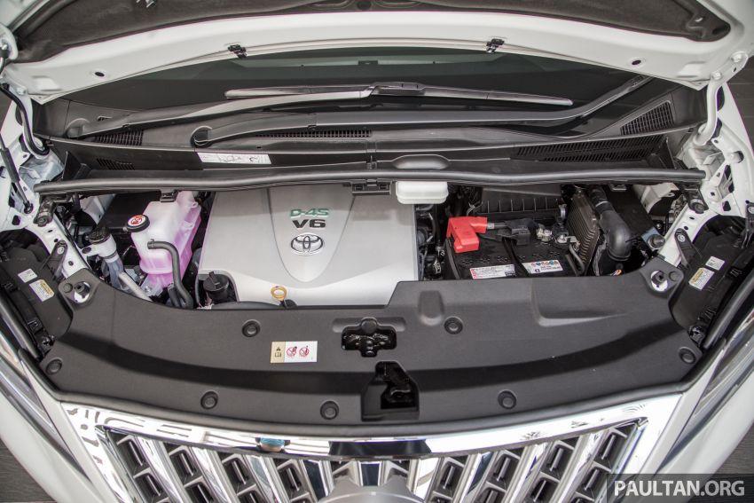 GALERI: Toyota Alphard ditukar kepada luaran Lexus LM — peralatan tulen sepenuhnya, berharga RM56k Image #1147699