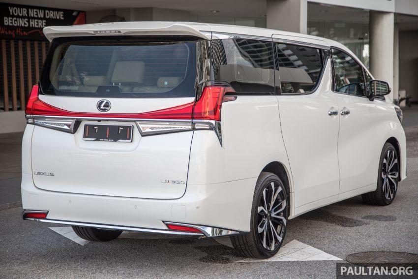 GALERI: Toyota Alphard ditukar kepada luaran Lexus LM — peralatan tulen sepenuhnya, berharga RM56k Image #1147666