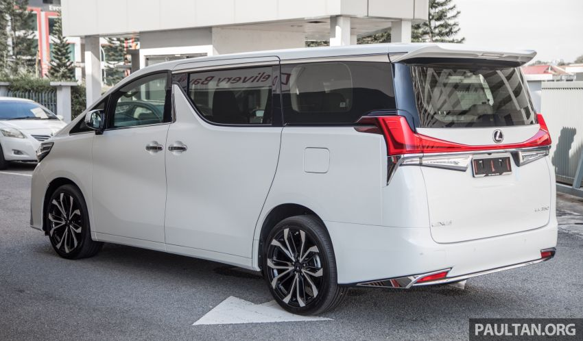 GALLERY: Toyota Alphard full exterior conversion to Lexus LM – genuine Lexus parts only, priced at RM56k Image #1147525