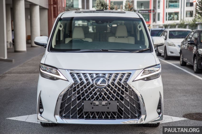 GALLERY: Toyota Alphard full exterior conversion to Lexus LM – genuine Lexus parts only, priced at RM56k Image #1147526