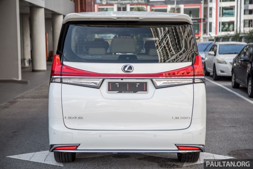 GALLERY: Toyota Alphard full exterior conversion to Lexus LM – genuine Lexus parts only, priced at RM56k Image #1147527