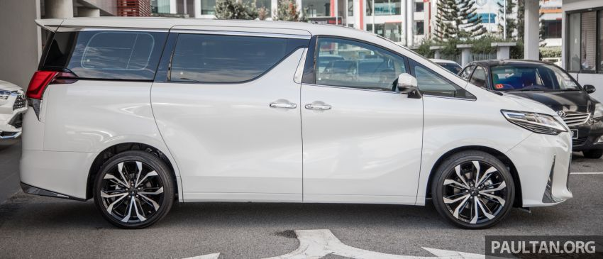 GALLERY: Toyota Alphard full exterior conversion to Lexus LM – genuine Lexus parts only, priced at RM56k Image #1147528