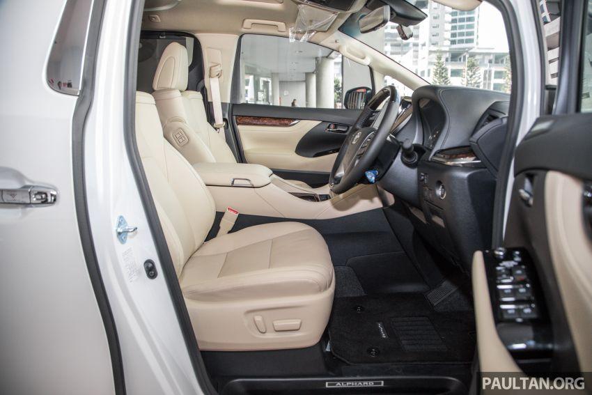 GALERI: Toyota Alphard ditukar kepada luaran Lexus LM — peralatan tulen sepenuhnya, berharga RM56k Image #1147716