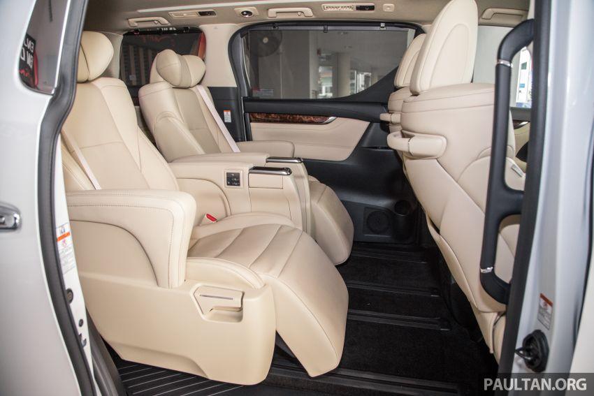 GALERI: Toyota Alphard ditukar kepada luaran Lexus LM — peralatan tulen sepenuhnya, berharga RM56k Image #1147717