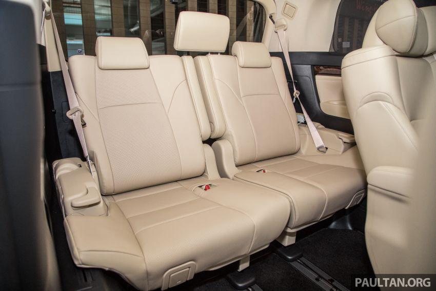 GALERI: Toyota Alphard ditukar kepada luaran Lexus LM — peralatan tulen sepenuhnya, berharga RM56k Image #1147722