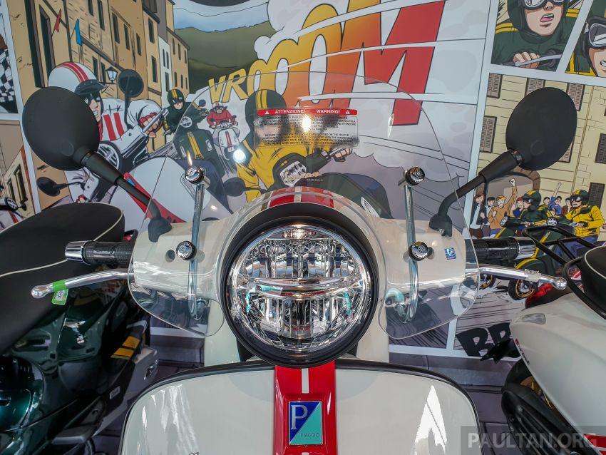 Vespa Sprint dan GTS Racing Sixties tiba di Malaysia – gaya inspirasi perlumbaan, harga RM19k dan RM31k Image #1144428