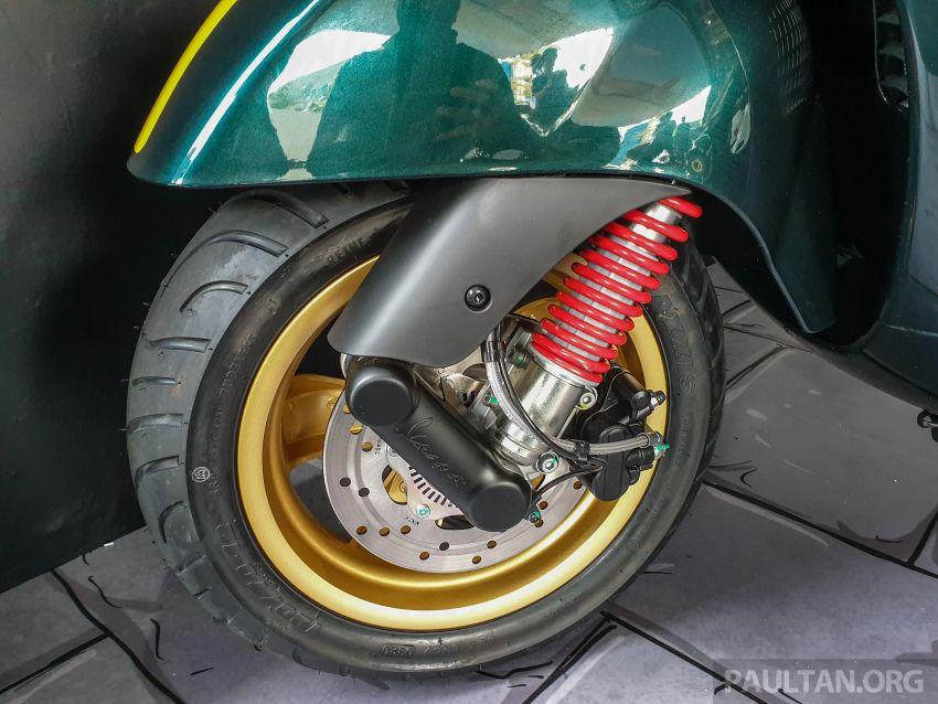 Vespa Sprint dan GTS Racing Sixties tiba di Malaysia – gaya inspirasi perlumbaan, harga RM19k dan RM31k Image #1144441