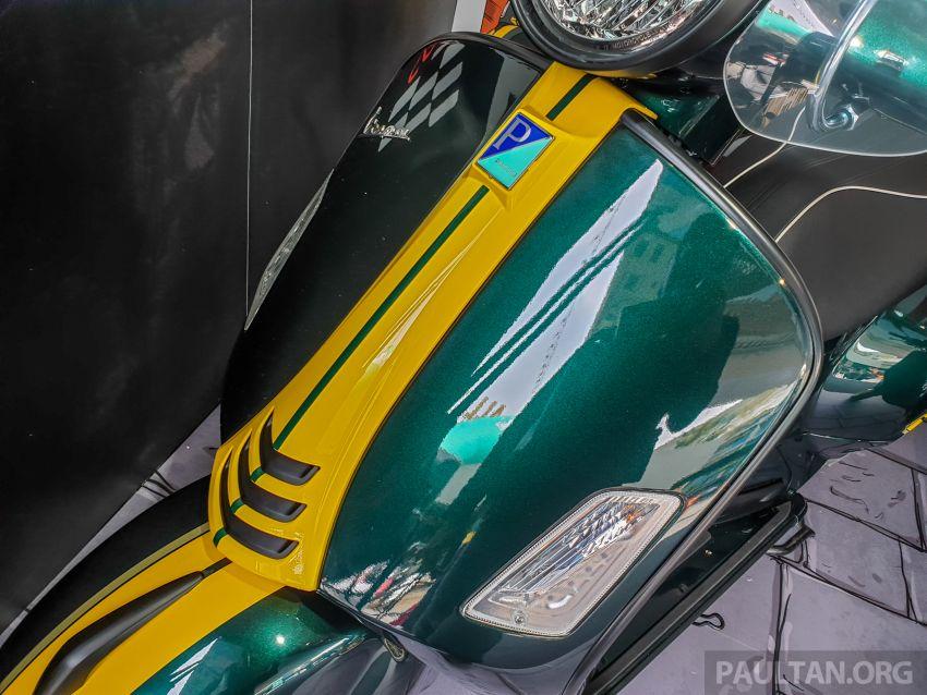 Vespa Sprint dan GTS Racing Sixties tiba di Malaysia – gaya inspirasi perlumbaan, harga RM19k dan RM31k Image #1144437