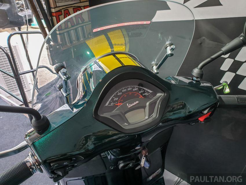 Vespa Sprint dan GTS Racing Sixties tiba di Malaysia – gaya inspirasi perlumbaan, harga RM19k dan RM31k Image #1144435