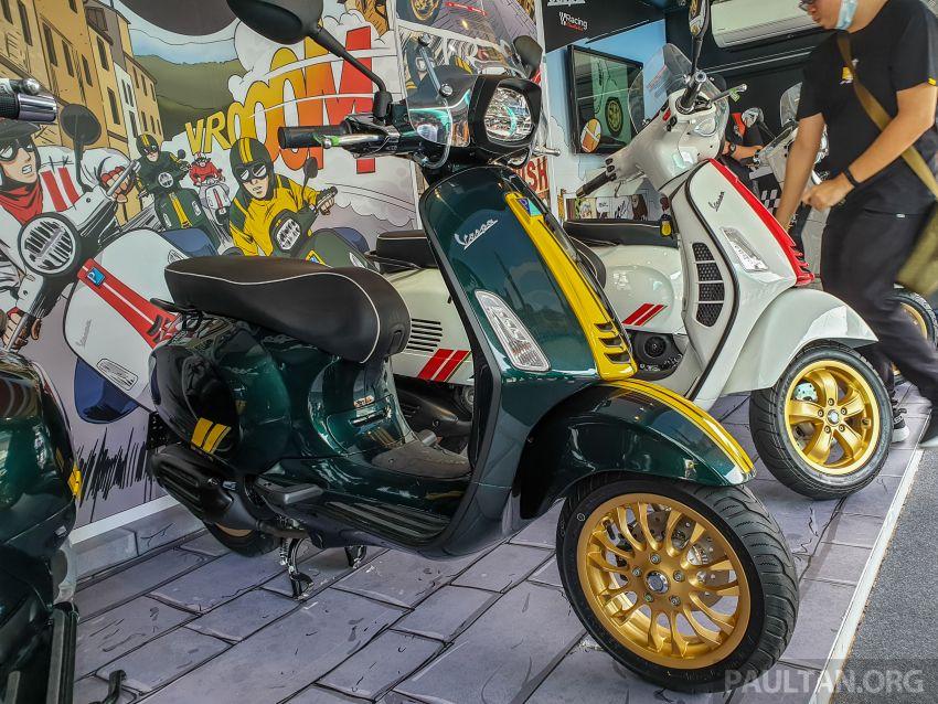 Vespa Sprint dan GTS Racing Sixties tiba di Malaysia – gaya inspirasi perlumbaan, harga RM19k dan RM31k Image #1144455