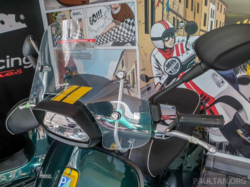 Vespa Sprint dan GTS Racing Sixties tiba di Malaysia – gaya inspirasi perlumbaan, harga RM19k dan RM31k Image #1144452
