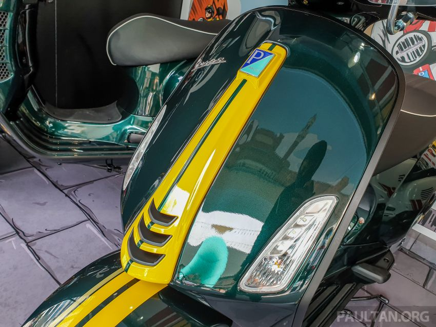 Vespa Sprint dan GTS Racing Sixties tiba di Malaysia – gaya inspirasi perlumbaan, harga RM19k dan RM31k Image #1144453