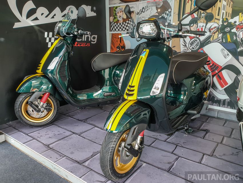 Vespa Sprint dan GTS Racing Sixties tiba di Malaysia – gaya inspirasi perlumbaan, harga RM19k dan RM31k Image #1144450
